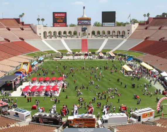 Innovate-Marketing-Group-Blog_Unconventional-Venues_LA-Coliseum-Family-Picnic_innovatemkg.com