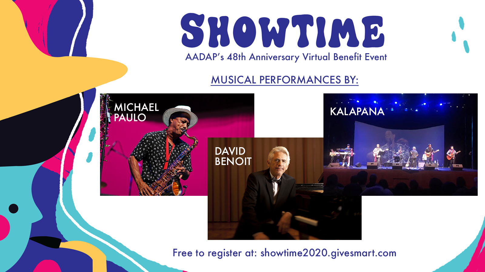 Showtime2020 Poster- All Artists