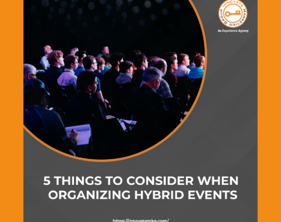 📍5 Things to Consider When Organizing Hybrid Events