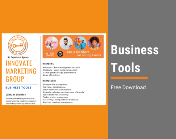 Innovate Marketing Group's Business Tools